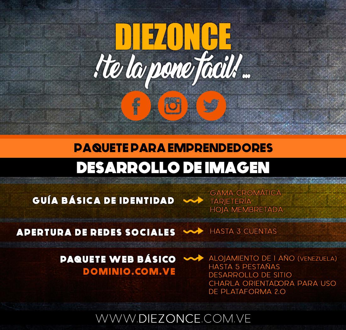 diezonce, comunicación integral, paginas web, barquisimeto, redes sociales, 10/11 Asuntos Comunicacionales C,.A.